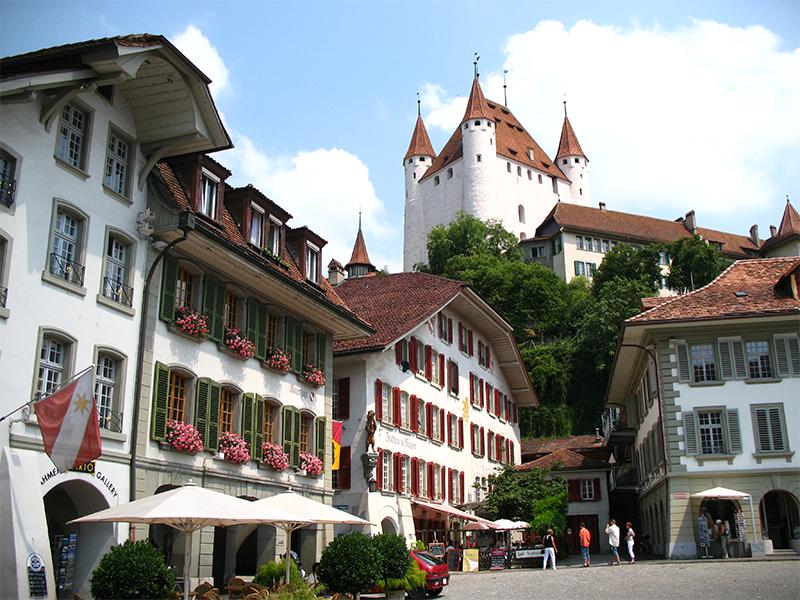 Umzug in Thun