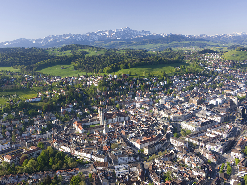 Umzug in St. Gallen