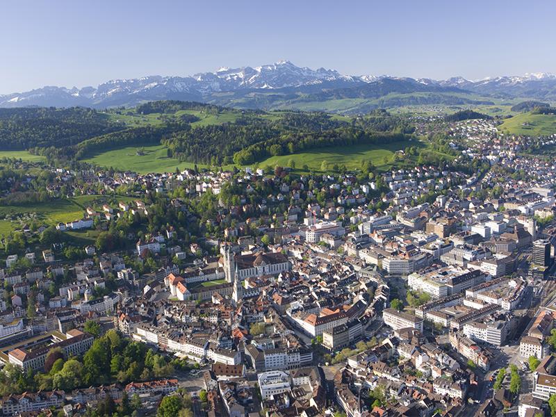 Umzug in St. Gallen
